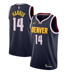 Men's Denver Nuggets #14 Gary Harris Nike Navy 2020-21 Swingman Jersey