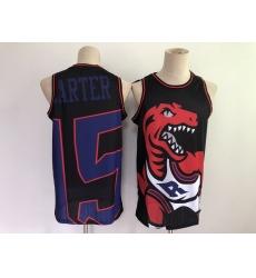 Men's Toronto Raptors #15 Vince Carter Black Big Face-2.0 Jersey