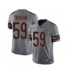 Women's Chicago Bears #59 Danny Trevathan Limited Silver Inverted Legend Football Jersey