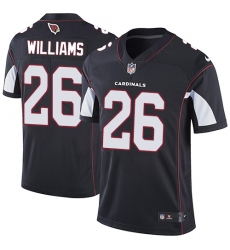 Youth Nike Arizona Cardinals #26 Brandon Williams Black Alternate Vapor Untouchable Limited Player NFL Jersey