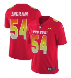 Men's Nike Los Angeles Chargers #54 Melvin Ingram Limited Red 2018 Pro Bowl NFL Jersey
