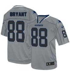 Men's Nike Dallas Cowboys #88 Dez Bryant Elite Lights Out Grey NFL Jersey