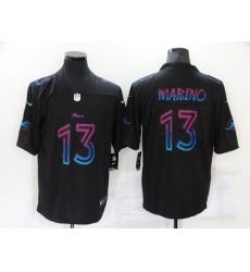 Men's Miami Dolphins #13 Dan Marino Black Nike City Player Limited Jersey