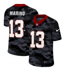 Men's Miami Dolphins #13 Dan Marino Camo 2020 Nike Limited Jersey