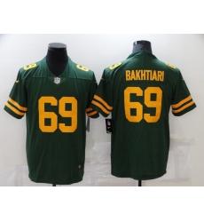 Men's Green Bay Packers #69 David Bakhtiari Nike Green Alternate Vapor Limited Player Jersey