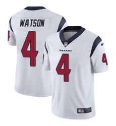 Men's Nike Houston Texans #4 Deshaun Watson Limited White Vapor Untouchable NFL Jersey