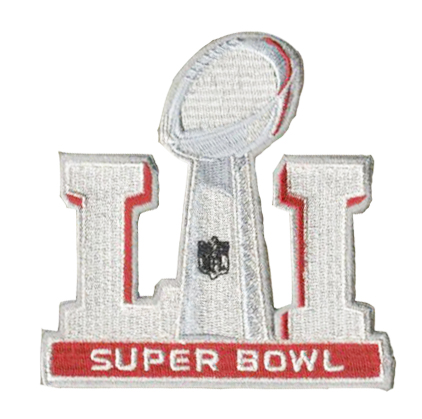 2017 SUPER BOWL LI patch