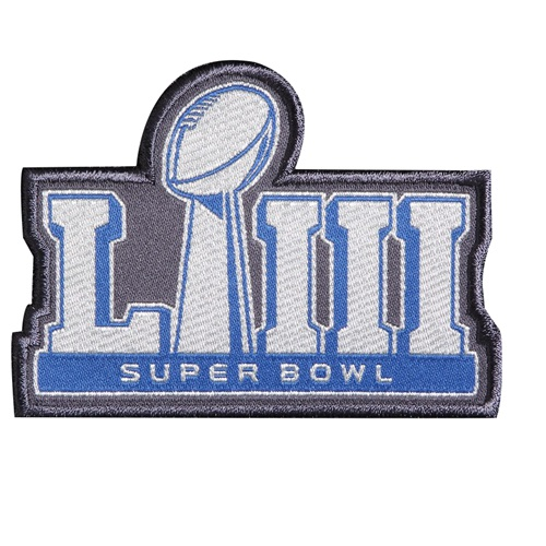 Stitched NFL 2019 Super Bowl LIII Patch